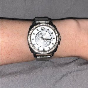 Used stainless steel coach watch